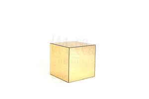 Gold Mirror Accent Table