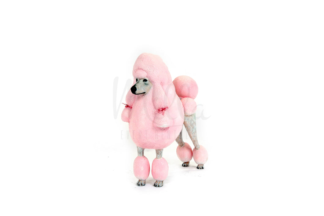 Pink French Poodle