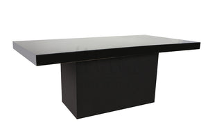 Alexa Black Table 4x8 Black Box Bottom