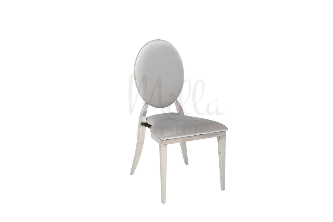 Grey/Silver Washington Chair