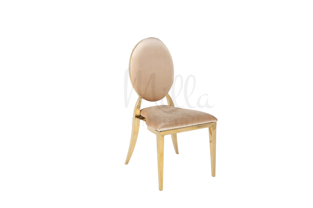 Champagne/Gold Washington Chair