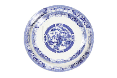 Blue Porcelin Plate