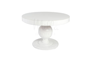 Alexa White Table 48""