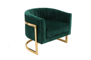 Emerald Green Armchair