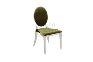 Olive Green/Silver Washington Chair
