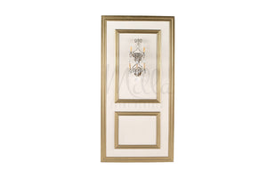 4x8 Gold/Off White Wall Panel (Sconce)