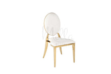 White/Gold Washington Chair