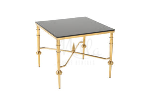 Lia Accent Table Gold