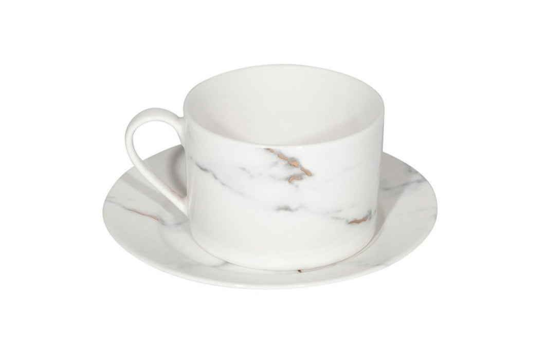 Marble Cup and Saucer