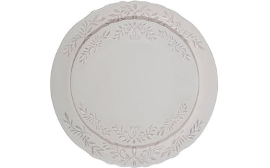 Fancy Scroll Dinner Plate