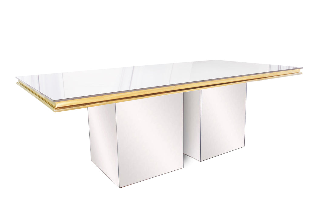 Metropolitan Silver and Gold Table 4x8