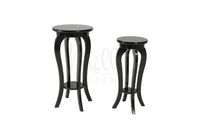 Regency Black Accent Table