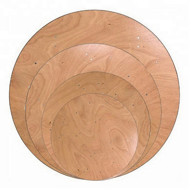 Round Plywood Table