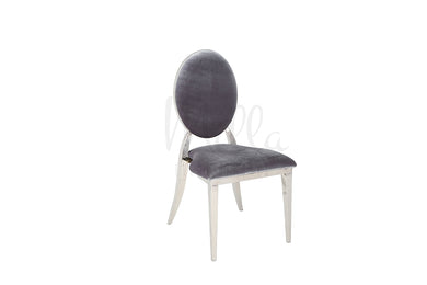 Charcoal/Silver Washington Chair