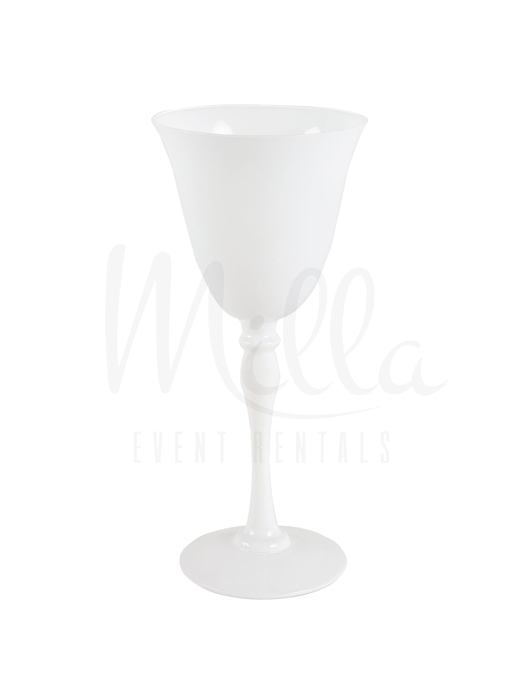 White Stella Wine Glass
