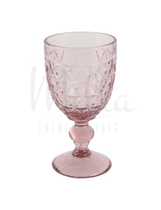Light Pink Vintage Goblet