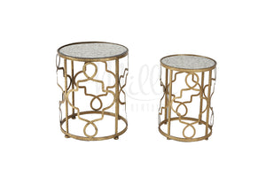Waldorf Accent Table Gold