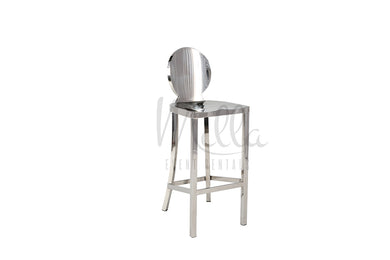Silver Washington Barstool