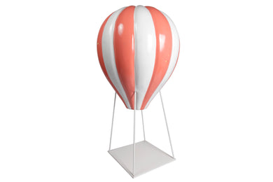 Coral Large Hot Air Balloon