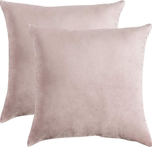 "Pale Pink Pillow 18""X18"""