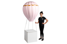 Pink/Gold Large Hot Air Balloon