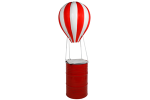 Red Large Hot Air Balloon