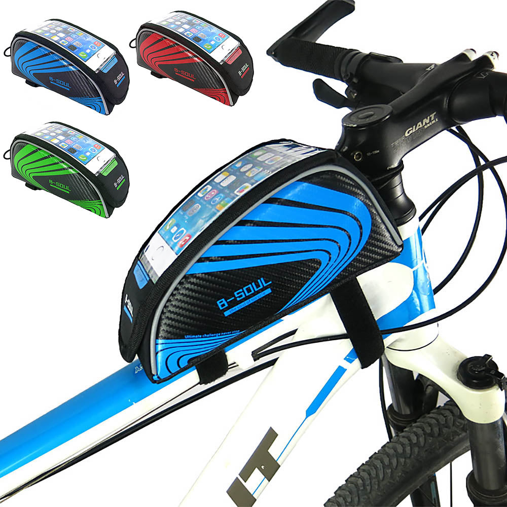 Cycling Frame Tube Bag For Cell Phone