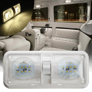 12V 48 LED Double Dome Light