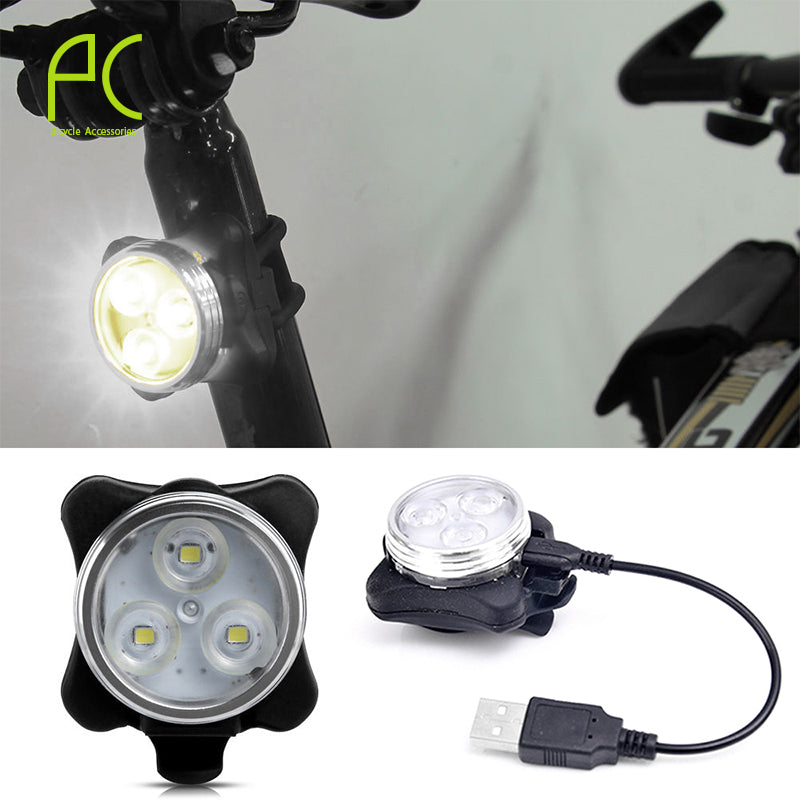 USB Light Taillight Rechargeable 4-modes Waterproof  Light