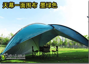 waterproof canopy  huge sun shelter