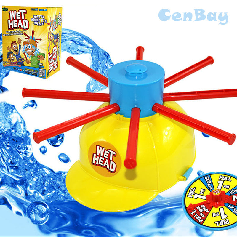 Wet Head - Hat Water Challenge