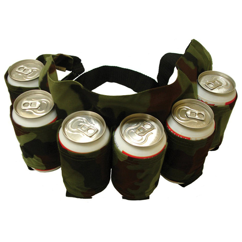 6 Pack Can/Bottle Waist Beer Holder