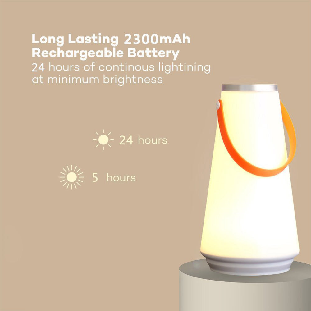 Wireless Portable Lantern Dimmable Night Light