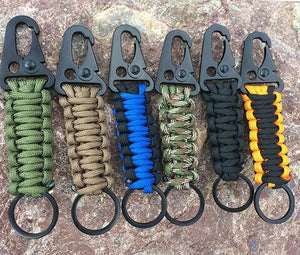EDC Paracord Rope Keychain