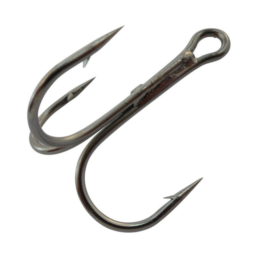 High Carbon Round Bend  Fishing Treble Hooks