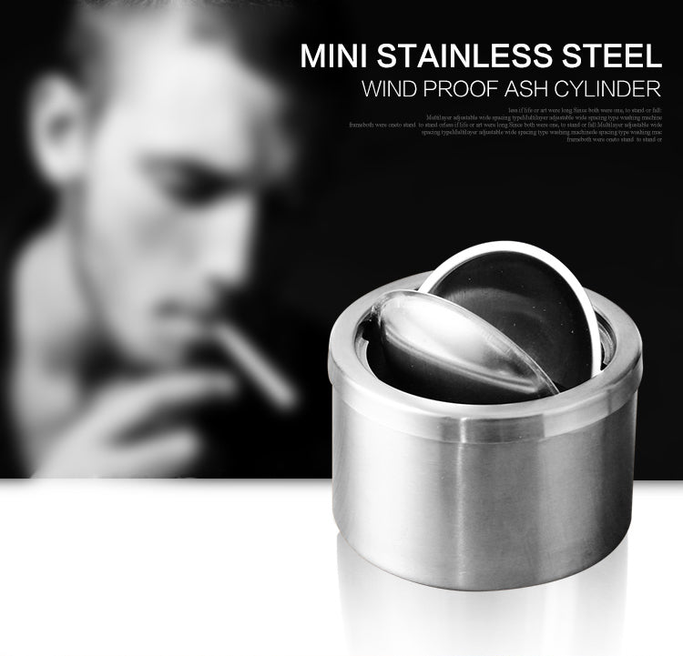 Portable Car Ashtray Mini Windproof Cigarette