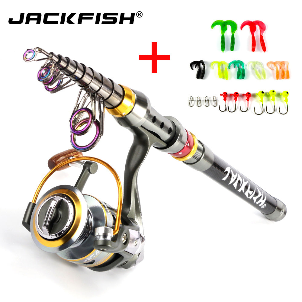 Spinning Fishing Rod Combo