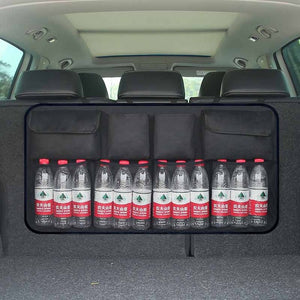 Car Trunk Organizer - Water Bottle Storage