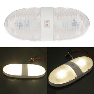 LED Double Dome Light Ceiling