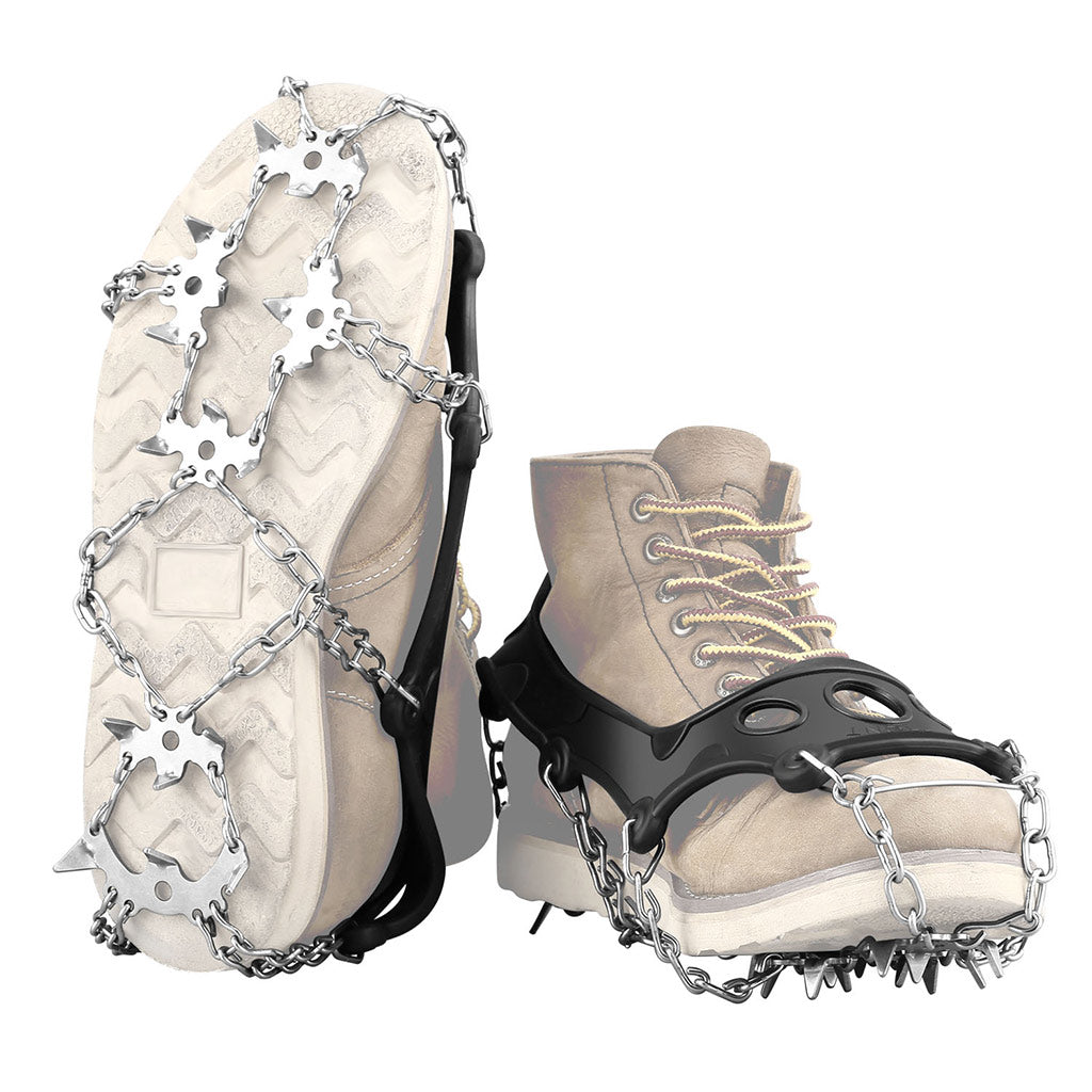 Stainless Steel Spikes Crampons Traction Cleats
