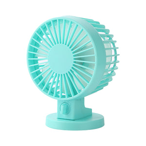 Mini USB Table Fan 4 Inch with Dual Blades