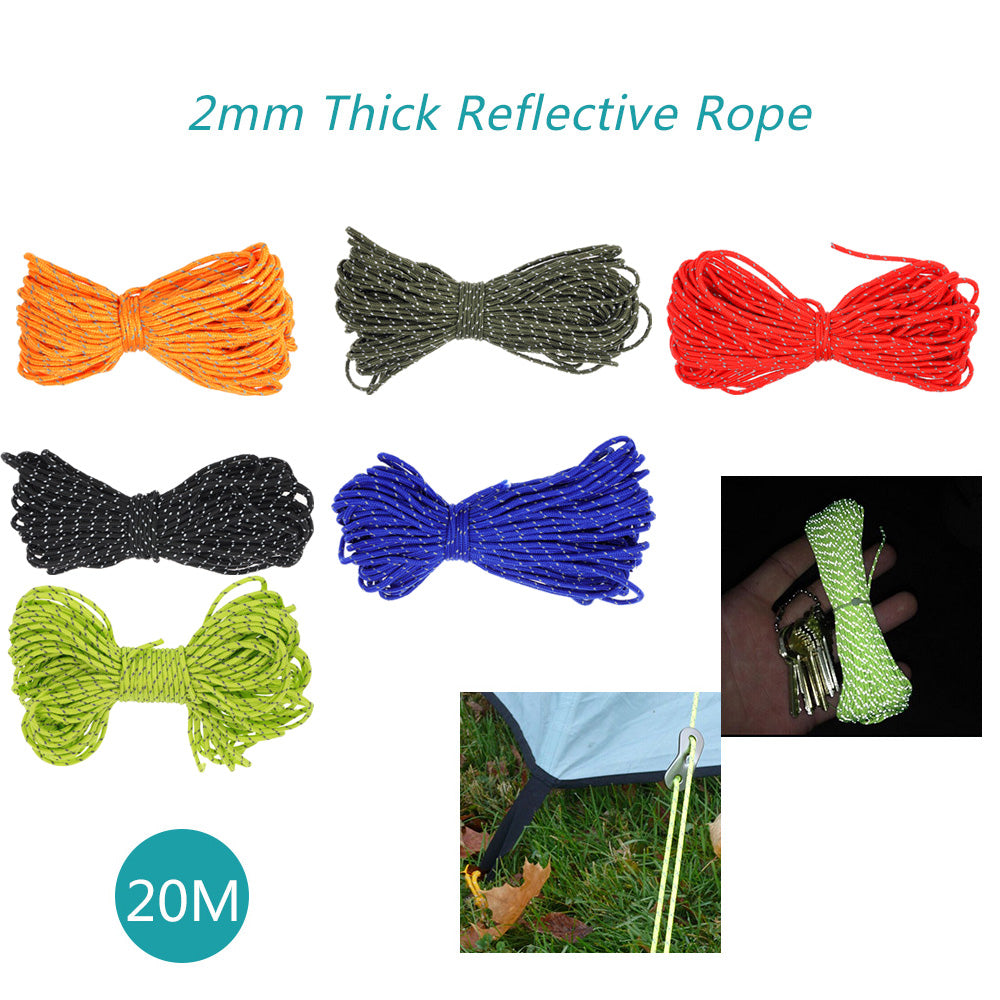 Reflective Paracord Rope