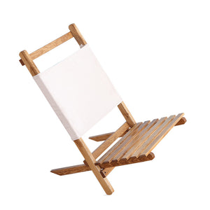 Portable Foldable Wooden Chair