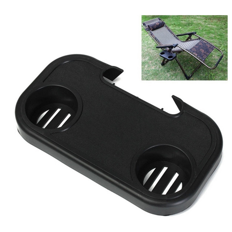 Portable Chair Side Tray For Drinks