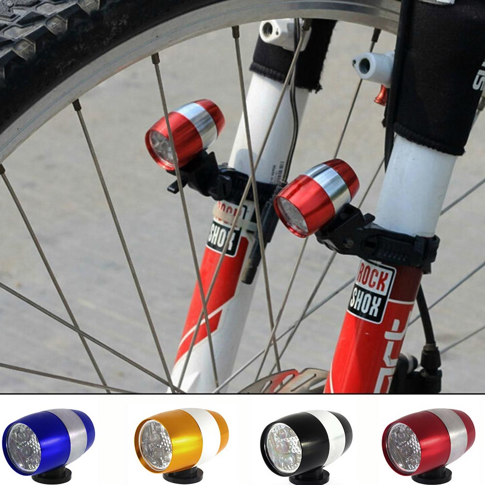 Safety  Bicycle 6 LED Mini Bright Flashlight