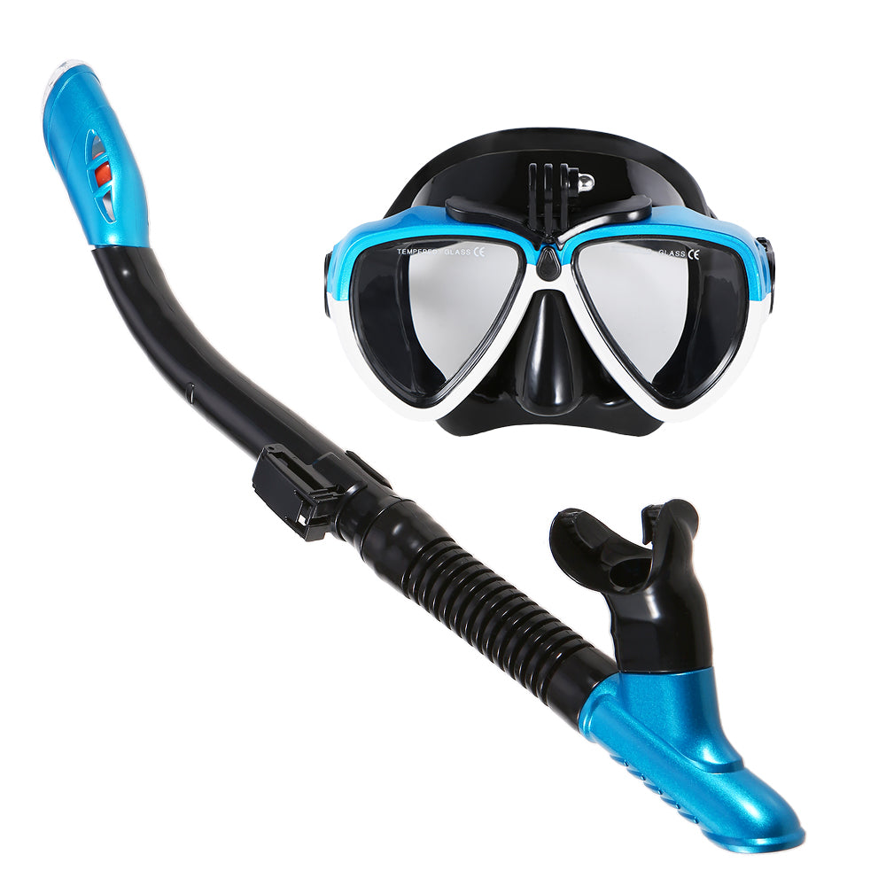 Snorkeling Mask & Snorkel Tube Set