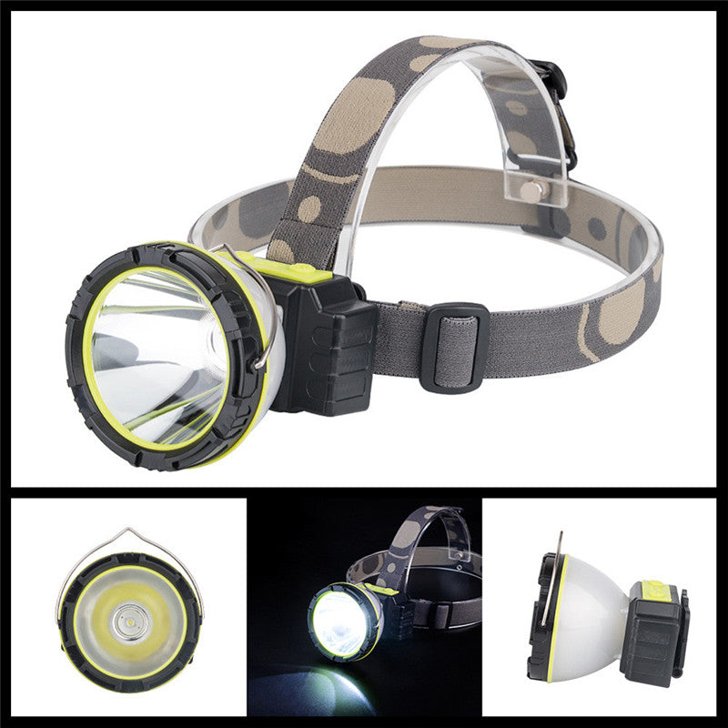 Headlamp+Lantern Ultra Bright 6-Mode Waterproof LED