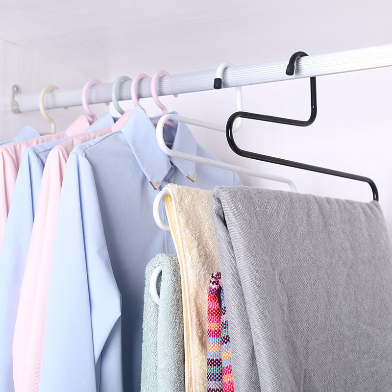 Multi-purpose 5-Layers Clothes Rack