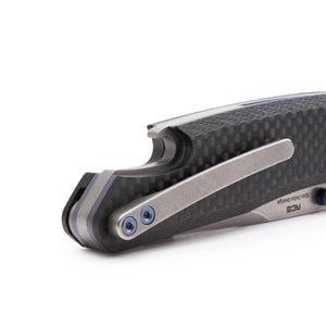 Ace | Blue Carbon Fiber