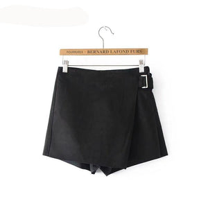 4105 - Euro Style Warm Suede Shorts
